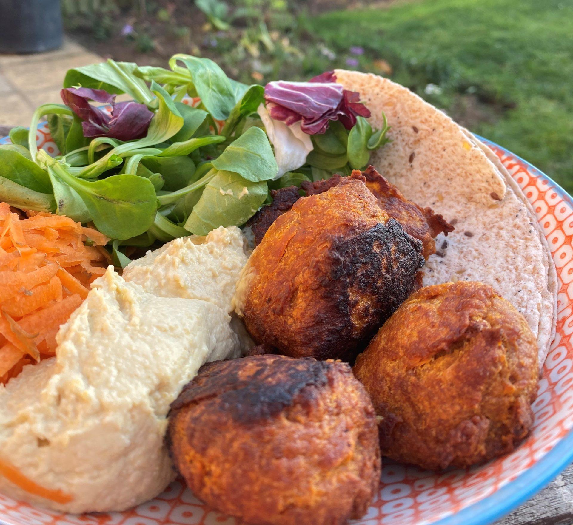 Food Bank Recipe: Sweet Potato Falafel